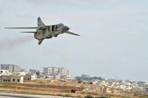 Máy bay Nga - Syria ném bom tấn công nhóm khủng bố IS dọc biên giới Jordan, Israel