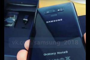 Video mở hộp Galaxy Note 9 bất ngờ xuất hiện trên mạng