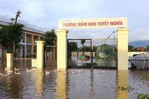 Huyện Quốc Oai, Ba Vì khẩn trương khắc phục hậu quả mưa lũ