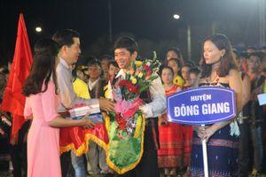 Quảng Nam: Tưng bừng các hoạt động tại lễ hội Văn hóa- thể thao các huyện miền núi
