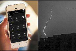 Một cô gái vừa bị sét đánh khi đang nghe điện thoại: Có nên nghe điện thoại khi trời dông gió?