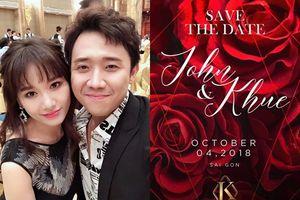 Lan Khuê hé lộ thiệp cưới sang chảnh, Hari Won mất 2 năm mới có cảm giác làm vợ