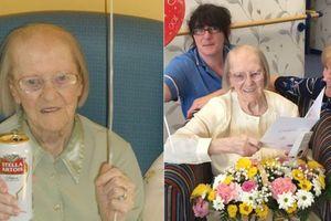 Cụ bà 100 tuổi chia sẻ bí quyết sống thọ: Uống bia mỗi ngày