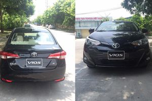 Toyota Vios 2018 sắp ra mắt bất ngờ xuất hiện tại Hà Nội