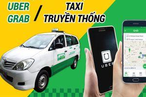 Thí điểm Grab – Uber bị 'tố' có nhiều khuất tất, Bộ GTVT nói gì?