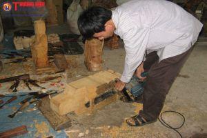 Làng nghề mộc Dư Dụ âm thầm phát triển