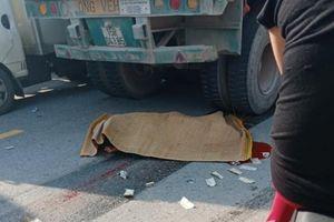 Va chạm với xe container, nam thanh niên tử vong tại chỗ