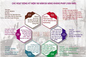 Nhiều hoạt động kỷ niệm 160 năm Ngày nhân dân Đà Nẵng kháng chiến chống liên quân Pháp