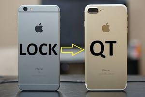 Cách biến iPhone lock thành iPhone bản quốc tế không cần SIM ghép