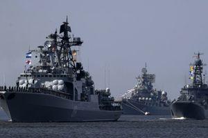 Hải quân Nga tăng cường thêm tàu chiến và tên lửa hành trình