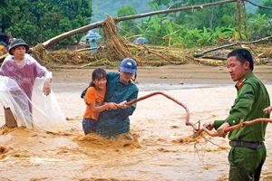 Những câu chuyện ấm tình người trong mưa lũ