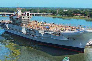 Ấn Độ chuẩn bị chạy thử nghiệm tàu sân bay nội địa đầu tiên