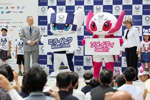 Ra mắt linh vật Olympic và Paralympic Tokyo 2020