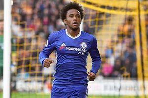 Chelsea bán Willian cho Barcelona