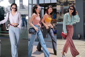 Chiếc quần 'hack' chiều cao đáng kể cho Quỳnh Anh Shyn - Chi Pu