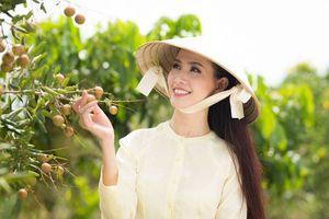 Mê đắm nhan sắc ngọt ngào của người đẹp Phan Thị Mơ