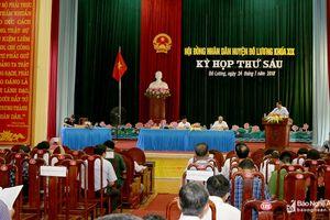 HĐND các huyện tổ chức kỳ họp, quyết nghị những vấn đề quan trọng