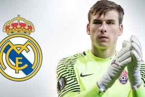 Real Madrid bất ngờ tuyển mộ thủ môn 19 tuổi của đội tuyển Ukraine