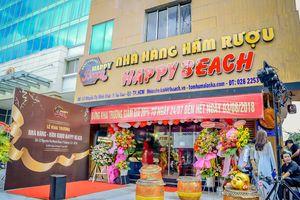 Tưng bừng khai trương nhà hàng hầm rượu đầu tiên tại Sài Gòn