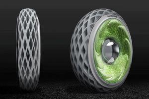Lốp xe của tương lai - cây mọc bên trong, bảo vệ môi trường