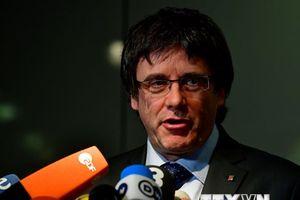 Cựu Thủ hiến Catalonia Puidgemont thông báo sẽ quay lại Bỉ