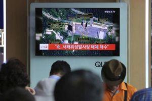 Tổng thống Mỹ đánh giá cao việc Triều Tiên dỡ bỏ bãi thử tên lửa