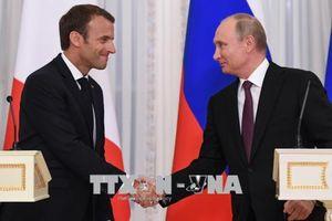 Tổng thống Pháp gặp Ngoại trưởng Nga bàn về xung đột tại Syria và Ukraine