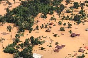 Hé lộ nguyên nhân vỡ đập thủy điện ở Lào