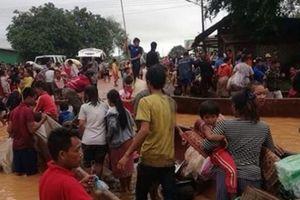 Vỡ đập thủy điện ở Lào: Giải cứu được gần 3.000 người