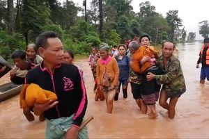 Vỡ đập thủy điện ở Lào: Giải cứu 26 công nhân Hoàng Anh Gia Lai