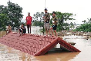 19 người chết trong vụ vỡ đập thủy điện tại Lào