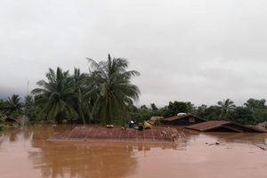 Vụ vỡ đập thủy điện tại Lào: Có 15 hộ dân người Việt bị ngập nước
