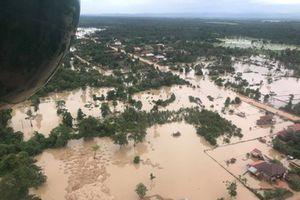 Tìm nguyên nhân gây vỡ đập thủy điện ở Lào