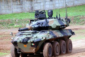 Italy trang bị xe tăng bánh lốp nội địa hàng đầu thế giới