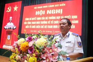 Bộ Quốc phòng quyết định tổ chức lại Bộ Tham mưu Cảnh sát biển