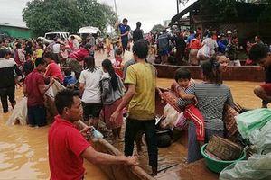 Nỗ lực khắc phục vụ vỡ đập thủy điện ở Lào