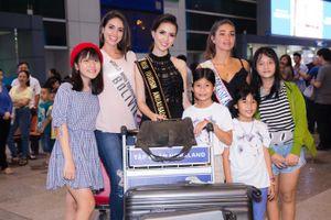 Dàn thí sinh Hoa hậu Đại sứ du lịch thế giới đến Việt Nam