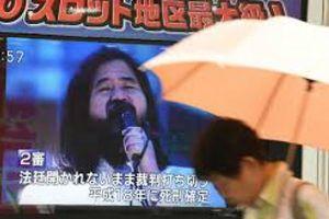 Nhật tử hình toàn bộ thành viên giáo phái rải khí độc sarin