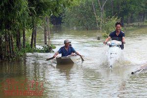 Huyện Chương Mỹ (Hà Nội) nỗ lực vượt qua khó khăn do ngập lụt