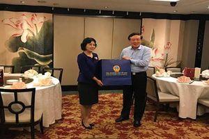 Chánh án TANDTC Nguyễn Hòa Bình thăm chính thức Cộng hòa Singapore