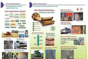 Sản phẩm Xanh Đài Loan sản xuất từ vật liệu tái chế