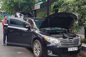 Truy xét 2 thanh niên trộm xe ô tô rồi bỏ lại xe cách hiện trường 2km