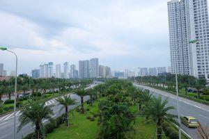Rợp những mảng xanh, bóng mát đô thị