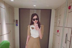 Hoa hậu Đặng Thu Thảo chia sẻ bí quyết lấy lại dáng thon gọn, giảm 13 kg sau sinh
