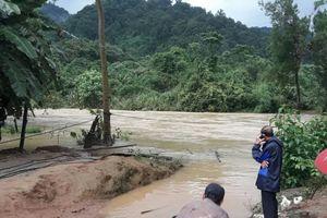 Lâm Đồng: Tìm thấy thi thể thanh niên đu dây qua sông bị nước cuốn trôi