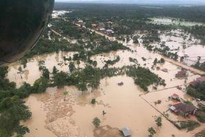 Hàng nghìn người Campuchia sơ tán vì nước lũ sau vụ vỡ đập ở Lào