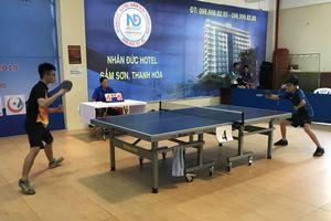 250 vận động viên tham gia Giải vô địch bóng bàn thiếu niên, nhi đồng Thủ đô