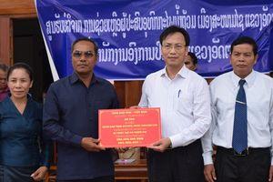 Kon Tum hỗ trợ người dân Lào sau sự cố đập thủy điện