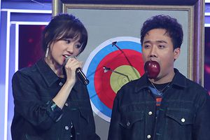 Lần đầu dẫn chung, Trấn Thành bị Hari Won 'dập sấp mặt' vì nói nhiều
