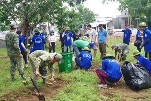 Nhiều hoạt động tình nguyện hè trên đảo Thổ Chu